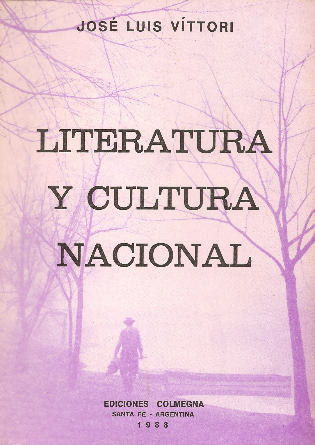 VITTORI Literatura y cultura nacional